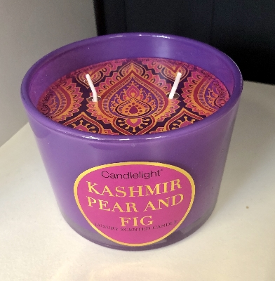 Kashmir Pear and Fig in Purple pot